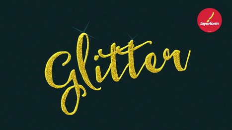 Learn How to Create a Gold Glitter Text Effect in Photoshop | xposing world of Photography & Design | Scoop.it