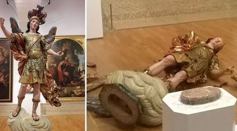 A Tourist Destroyed An 18th Century Sculpture While Tying To Take A Selfie | Art Conservation and Restoration | Scoop.it