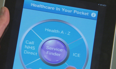 Health Apps: Smartphone Applications To Be 'Prescribed' By GPs | Technology | Sky News | Healthcare Apps | Scoop.it