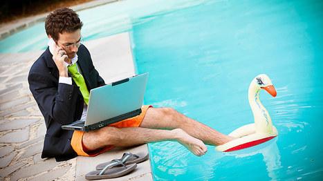 Peut-on prendre des vacances quand on est entrepreneur ? | Webmarketing et Réseaux sociaux | Scoop.it