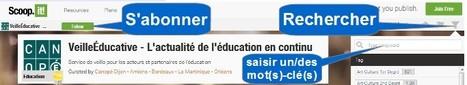 Service de veille pour les acteurs et partenaires de l'Éducation | veillepédagogique | Scoop.it