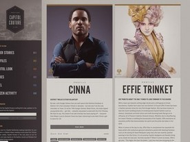 The Hunger Games' stroke of marketing genius: An alternate reality fashion magazine, Capitol Couture | Transmedia: Storytelling for the Digital Age | Scoop.it