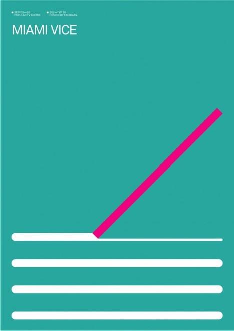Exergian Minimalist Poster Series of Popular TV Shows | TrendLand: Fashion Blog & Trend Magazine | Minimalist Illustration | Scoop.it