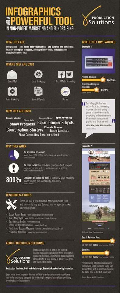 Infographics Are A Powerful Tool in Non-Profit Marketing and Fundraising | Pinterest & Instagram for Nonprofits