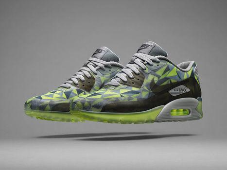 Nike Air Max 90 Ice Volt Mica Green Dark Black for Sale Online | Nike Air Jordans | Scoop.it