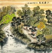 Chinese Village Countryside Paintings for sale! | Artisoo Chinese Painting | Scoop.it