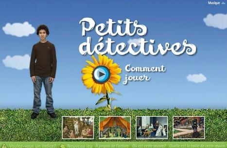 Petits détectives : un serious game pour l'histoire des arts | Serious games : apprendre par le jeu ! | Scoop.it