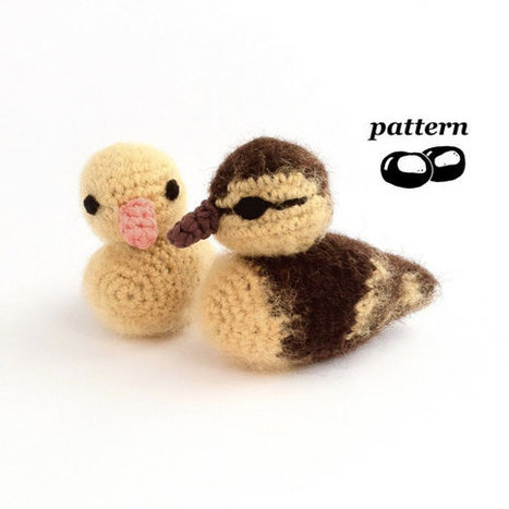 Duckling Crochet Pattern | Bazaar | Scoop.it