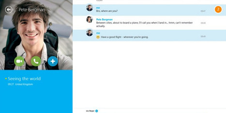 Skype For Windows 8 Gets An Update | | Digital-News on Scoop.it today | Scoop.it