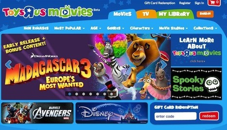 Toys R Us launches family-friendly internet movie service, plans Tabeo access, HD video and more | Kids-friendly technologies | Scoop.it