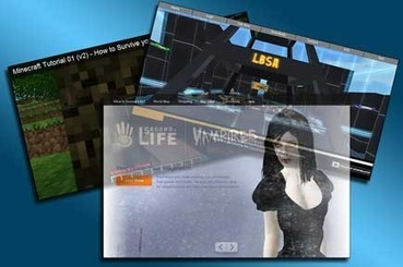 OpenSim vs Second Life vs Minecraft | A Virtual Worlds Miscellany | Scoop.it
