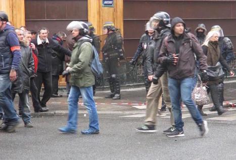 Les violences en manifestation? Cherchez les policiers en civil | Communique'Ethique sur les résistances, la désobéissance civile, les luttes de terrain, manifs, actions et répressions | Scoop.it