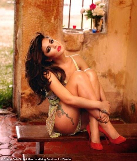 Cheryl shows she's still got the X Factor in stunning calender poses | Lipstick Whisper | Scoop.it