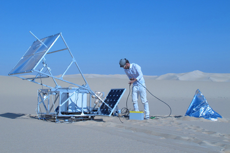 Solar-Powered 3D Printer Turns Desert Sand Into Glass Bowls And Sculptures | The Mind Unleashed | Arabian Peninsula | Scoop.it