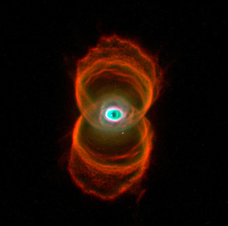 The Hourglass Nebula - Made of Hydrogen, Oxygen and Nitrogen, Ingredients of Life | Love | Scoop.it