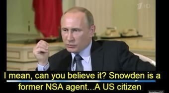Putin is Loving the FIFA Scandal: Ties in Snowden, Assange, NSA. US is a Global Busybody (Video) | Saif al Islam | Scoop.it