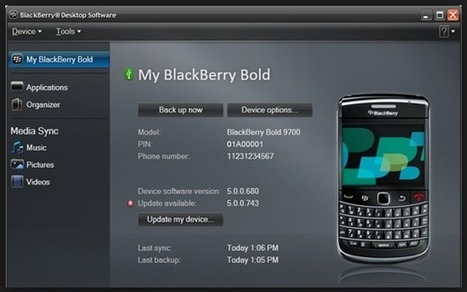 BlackBerry Desktop Software for PC 7.1.0.41 Bundle 42 | Teknoloji | Scoop.it