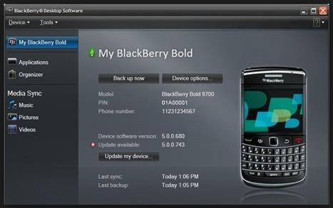 BlackBerry Desktop Software for PC 7.1.0.41 Bundle 42 | Software Download | Scoop.it