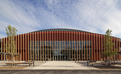 University of Cambridge Sports Centre by Arup Associates | sustainable architecture | Scoop.it