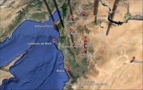 Exploring ancient Syrian trade routes in Google Earth - Google Earth Blog | Digital Cartography | Scoop.it