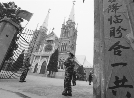 Stop invading our churches, Christians tell China's rulers - StarPhoenix   Church Demolition Threat Sparks Sit-In in Wenzhou, China   Scoop.it