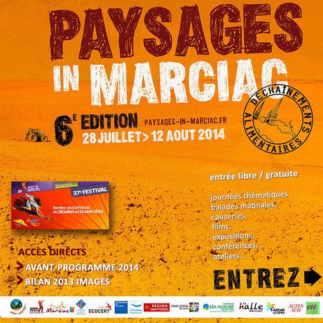 Paysages in Marciac 2014 | PSDR - Pour et Sur le Développement Régional en Midi-Pyrénées | Scoop.it