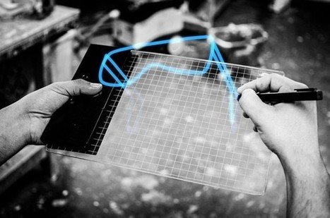 Gravity Augmented Reality System Lets You Sketch in 3D: Airbrush - Technabob (blog) | Machinimania | Scoop.it
