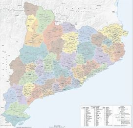 L'ICGC incorpora el Moianès en la seva cartografia comarcal | #territori | Scoop.it