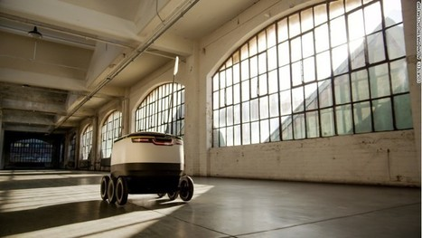 Forget drones, here come delivery robots   thewheelworld   Scoop.it
