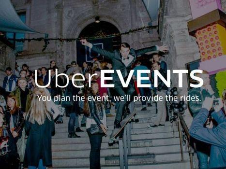 Debutta #UberEvents: corse prepagate ai partecipanti per raggiungere le location degli eventi | ALBERTO CORRERA - QUADRI E DIRIGENTI TURISMO IN ITALIA | Scoop.it