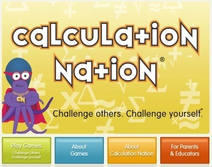 Calculation Nation! Fun math strategy games... #mathchat | KB...Konnected's  Kaleidoscope of  Wonderful Websites! | Scoop.it