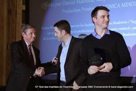 """Trophées de l'impression numérique 2014 - L'entreprise """"Impressions Modernes"""" récompensée   Tendances & e.tourisme   Scoop.it"""