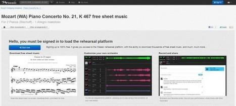 Nueva versión de Weezic, el sitio web para tocar, buscar y compartir música clásica | Wepyirang | Scoop.it
