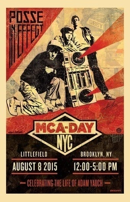MCA Day 2015: Celebrating the Life of Adam Yauch @ Littlefield, Brooklyn, NYC - August 8th, 2015 | Beastie Boys | Scoop.it
