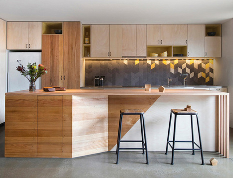 How to Go Geometric Without Going Overboard | Designing Interiors | Scoop.it