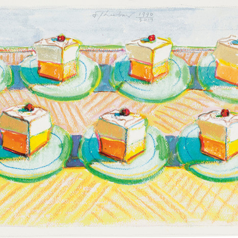 These Paintings of Cake are High Art, Okay? Slideshow Photos - Bon Appétit | @FoodMeditations Time | Scoop.it