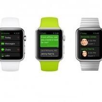 Apple Watch : Les 1ères apps de santé se dévoilent | Santé & Médecine | Scoop.it