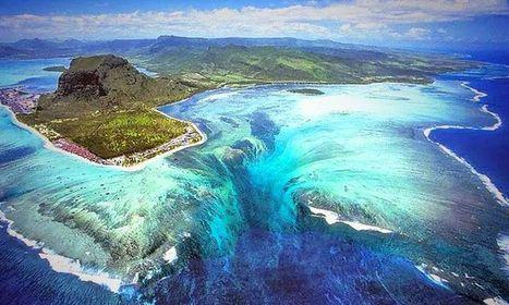 Découvrez une illusion éblouissante de la nature : la fascinante cascade qui s'écoule sous l'océan | Ocean | Scoop.it