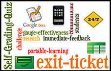 Use GoogleDocs Self-Grading Quiz as an Exit Ticket ~ Cool Tools for 21st Century Learners | E-Learning and Online Teaching | Scoop.it