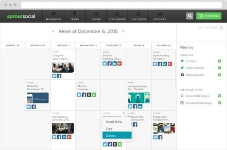 4 Steps for Creating a Social Media Calendar | Sprout Social | InformationCommunication (ICT) | Scoop.it