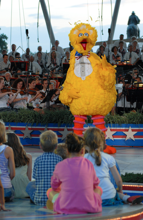"""Doctors prescribe more Big Bird, less brainless """"screen time"""" for young kids - The Hechinger Report 