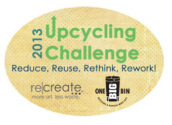 Talking (a little less) Trash: Upcycling Challenge 2013! | VintageLifeStyle | Scoop.it
