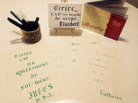 Calligraphie & Ecriture | De Mode en Art | De Mode en Art | Scoop.it