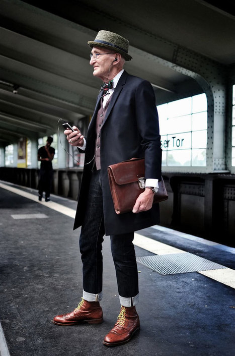 104-Year-Young Grandpa Has More Style Than You (And Less Years Than Internet Says) | Dandyism | Scoop.it