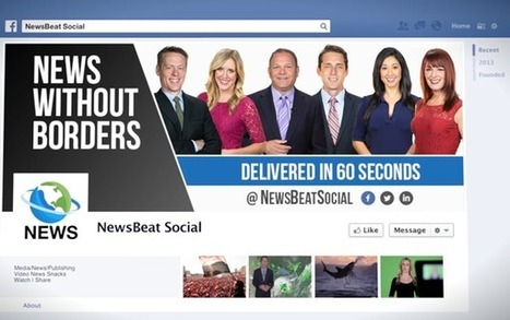 Delivering Video News Using Facebook – How NewsBeat Social reached a Million Streams in Less Than a Year | Social Media | Scoop.it