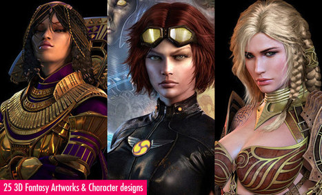 25 Stunning 3D Fantasy Art works and 3D Character designs by Jaegil Lim | Visual Loop Inspiration | Scoop.it