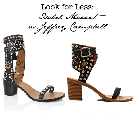 Fashion Foie Gras: Look for Less: Isabel Marant vs. Jeffrey Campbell | isabelmarantuktrainers.co.uk | Scoop.it