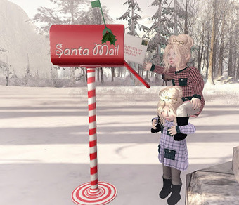 Mailing our letters...   亗 Second Life Kids Lookbook 亗   Scoop.it