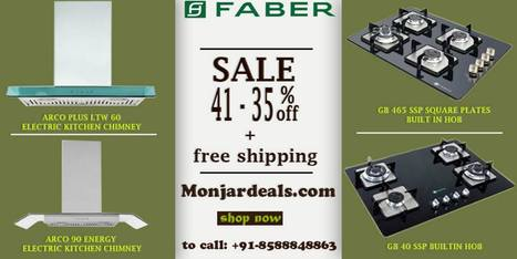Faber Chimney Kitchen Appliances With Beauty An