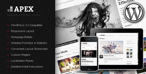 Apex Responsive Portfolio WordPress Theme - Wordpress Themes | Themes4Free | Scoop.it